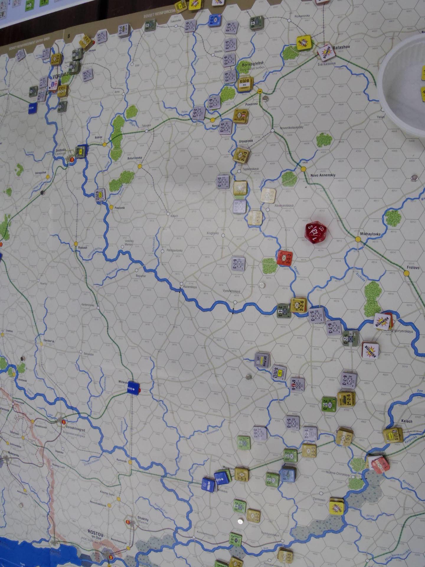 2020.01.12(日)YSGA新春初例会⑶二日目...(GMT)Stalingrad\'42キャンペーン第1班の➋_b0173672_19490690.jpg