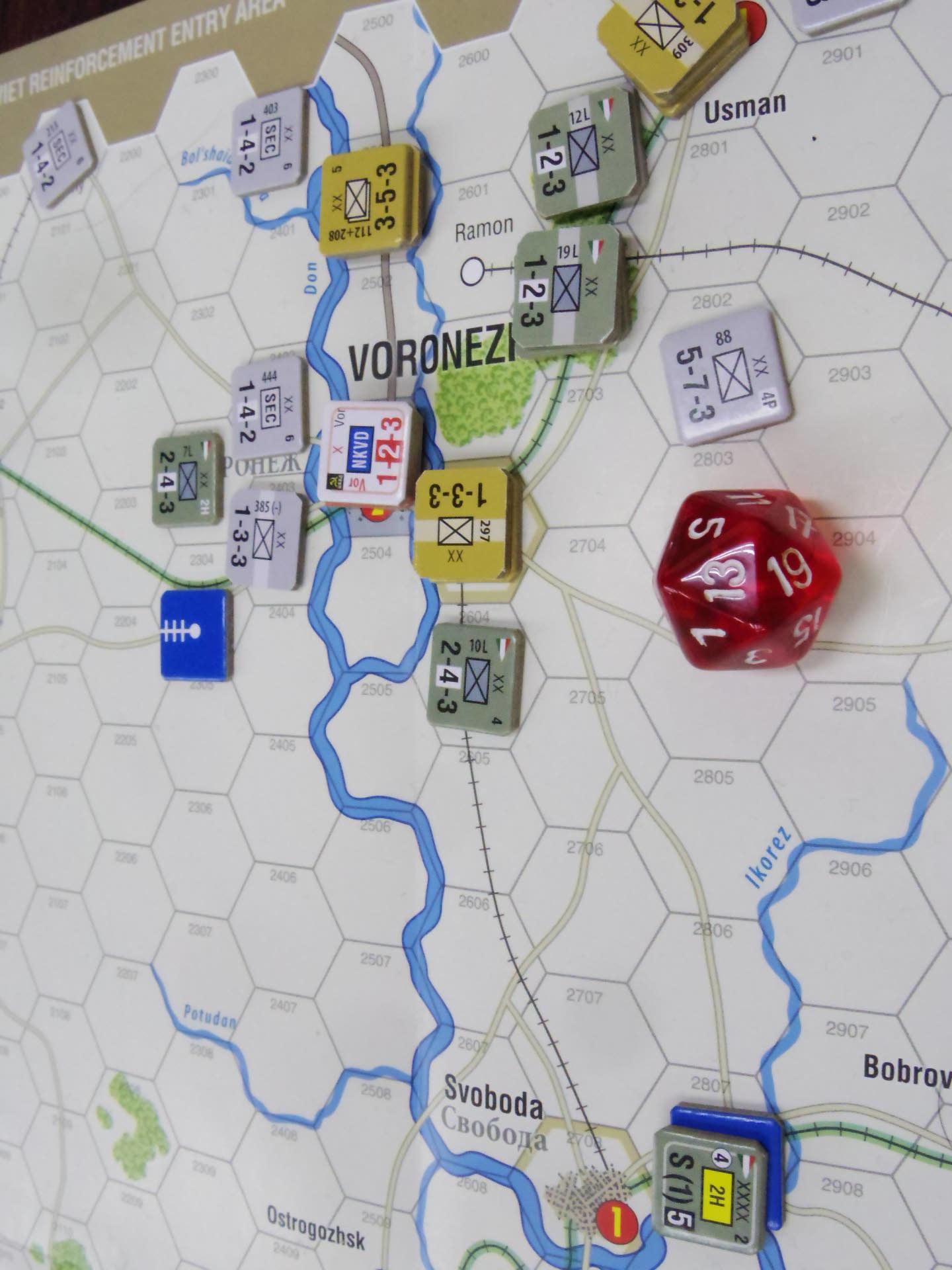 2020.01.12(日)YSGA新春初例会⑶二日目...(GMT)Stalingrad\'42キャンペーン第1班の➋_b0173672_19490756.jpg