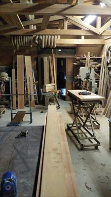 水槽台の製作開始_d0165772_20415070.jpg