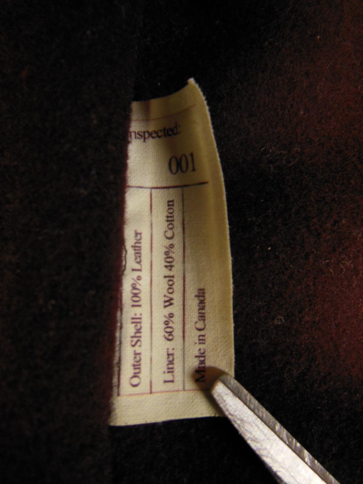 USED HIMEL BROTHERS LEATHER HERON 1929/新喜皮革製黒ホースハイド/SIZE-36/ボタンフロント A-1 ジャケット_c0187684_15041844.jpg