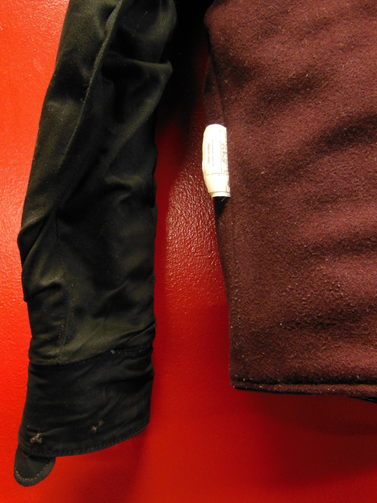 USED HIMEL BROTHERS LEATHER HERON 1929/新喜皮革製黒ホースハイド/SIZE-36/ボタンフロント A-1 ジャケット_c0187684_15063630.jpg