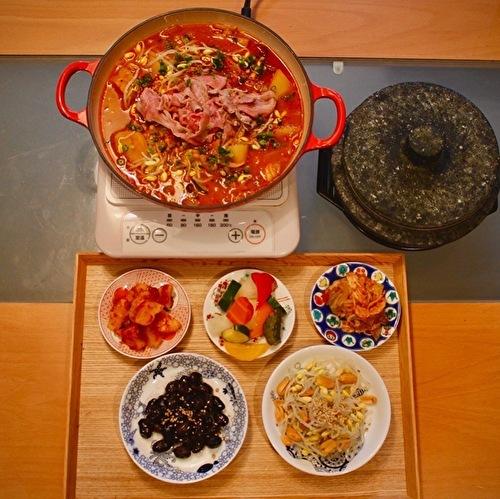 寒い日に、キムチと納豆、お味噌でトリプル発酵鍋_a0223786_11051642.jpg