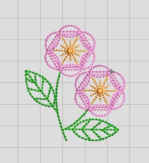 昨年分の経理完了&お花の刺繍_a0370893_00022539.jpg