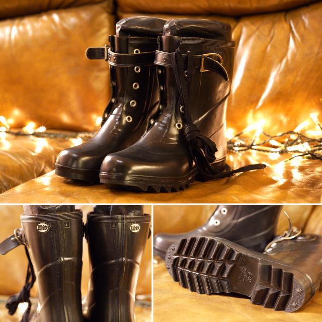 ✨ミツウマの国鉄編み上げ長靴とスパイク足袋✨_e0243096_03382850.jpeg