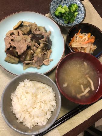 ナスの味噌炒め_d0235108_20275576.jpg