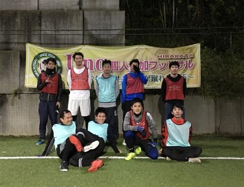 UNO 12/19(木) at UNOフットボールファーム_a0059812_18041525.jpg
