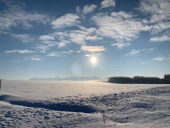 今朝は凍れました〜(^^)_f0096216_15452497.jpg