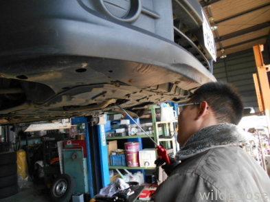 VAY12バン 車検整備中d(⌒ー⌒)_c0213517_15042993.jpg
