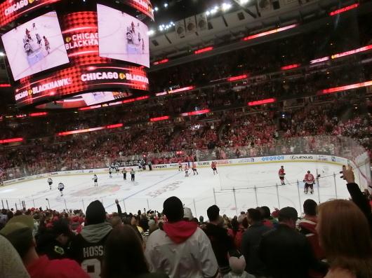NHL観戦中に・・・撃沈しているひと_| ̄|○_e0303431_18124685.jpg