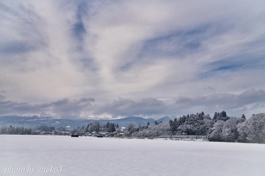 みちのく冬景色にこまち号_d0067934_08551419.jpg