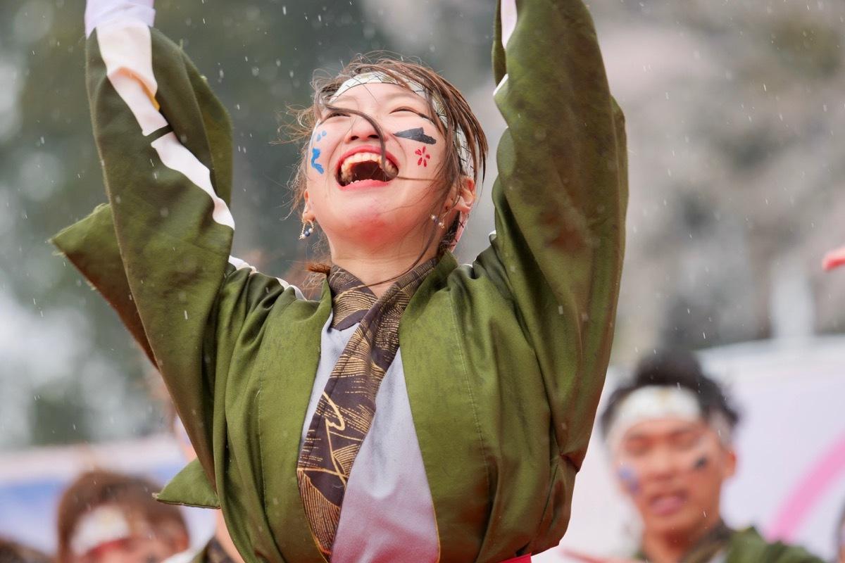 """2019篠山よさこいまつりその11(関西大学学生チーム""""漢舞"""")_a0009554_22344812.jpg"""