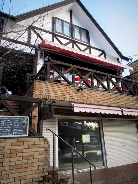 雪景色の旧軽井沢 * ベーカリー&レストラン 沢村~おかしやあした_f0236260_23502707.jpg