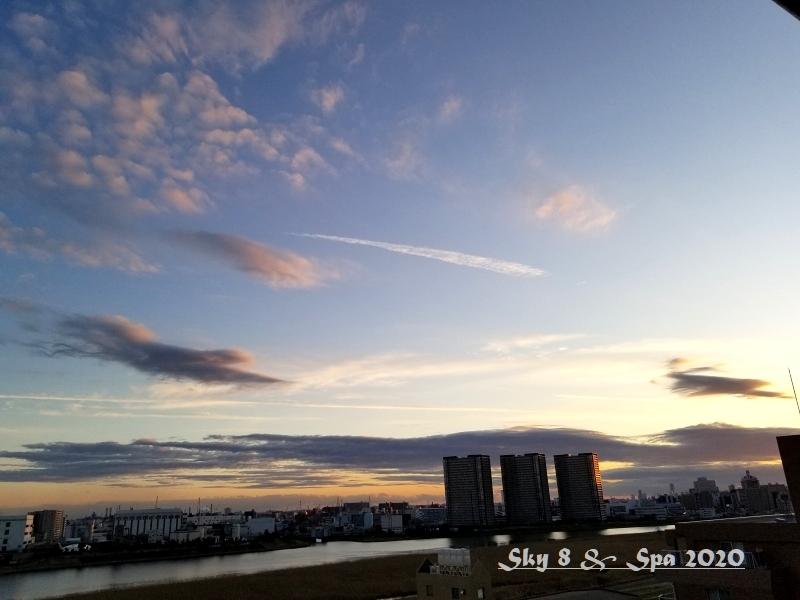◆ 見上げてみれば「空」その4、夕方編(2020年1月)_d0316868_08440091.jpg