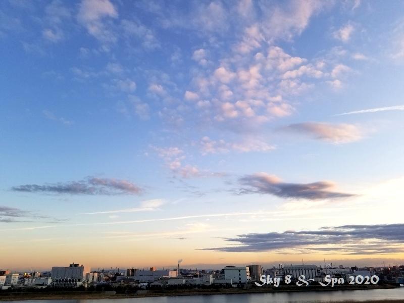 ◆ 見上げてみれば「空」その4、夕方編(2020年1月)_d0316868_08441851.jpg