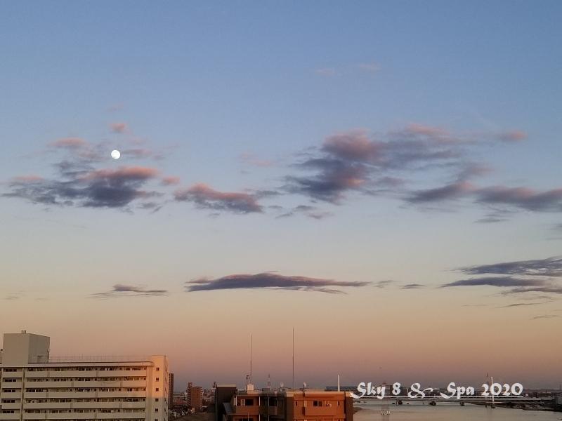 ◆ 見上げてみれば「空」その4、夕方編(2020年1月)_d0316868_08443707.jpg