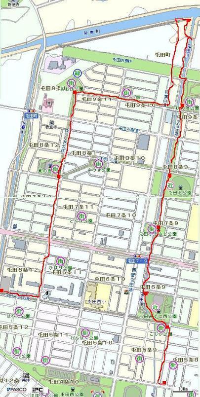 北屯田の公園と遊歩道を歩く(2)_f0078286_07295578.jpg