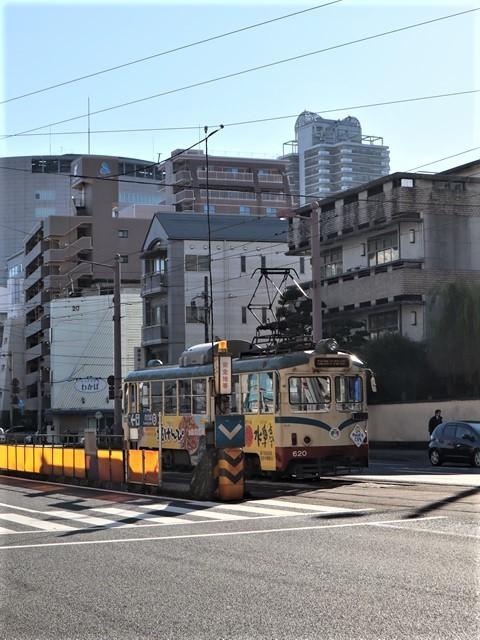 高知の街を走る路面電車、いろんな路面電車にびっくり、可愛い高知の路面電車と観光巡り_d0181492_00234993.jpg
