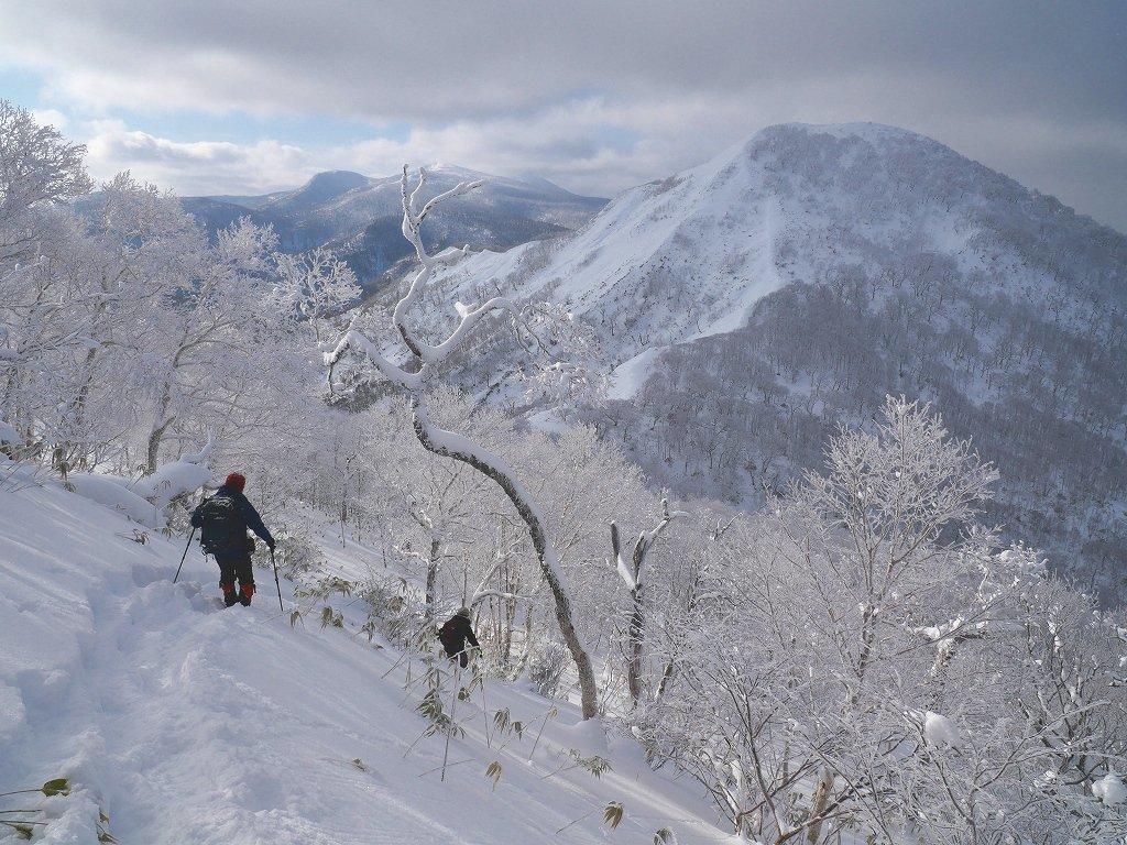 北白老岳と白老岳、2020.1.13_f0138096_23205794.jpg