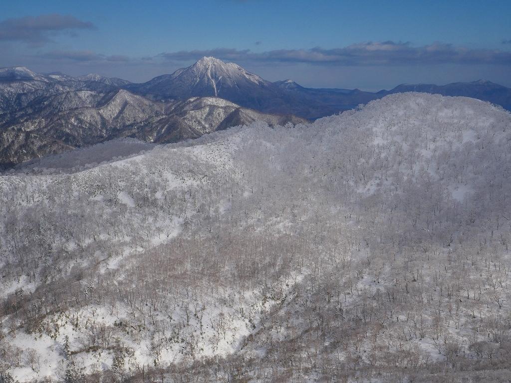 北白老岳と白老岳、2020.1.13_f0138096_23220661.jpg