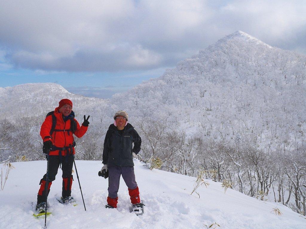北白老岳と白老岳、2020.1.13_f0138096_23225864.jpg
