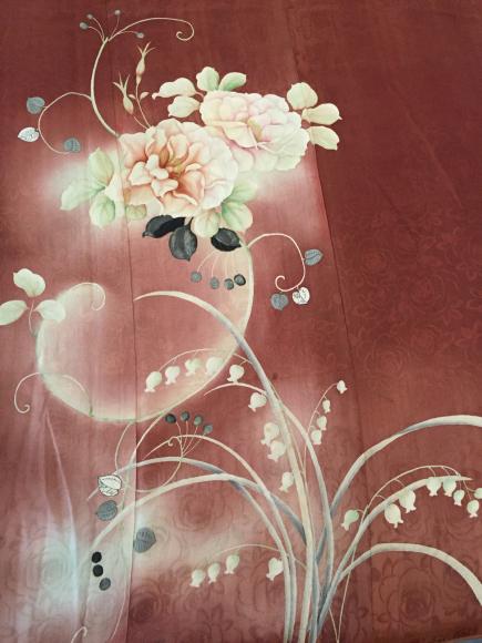 1/29より!新宿ISETAN「大正ロマン百貨店」薔薇と鈴蘭着物×ドール帯♪販売商品1_c0321302_11465104.jpg