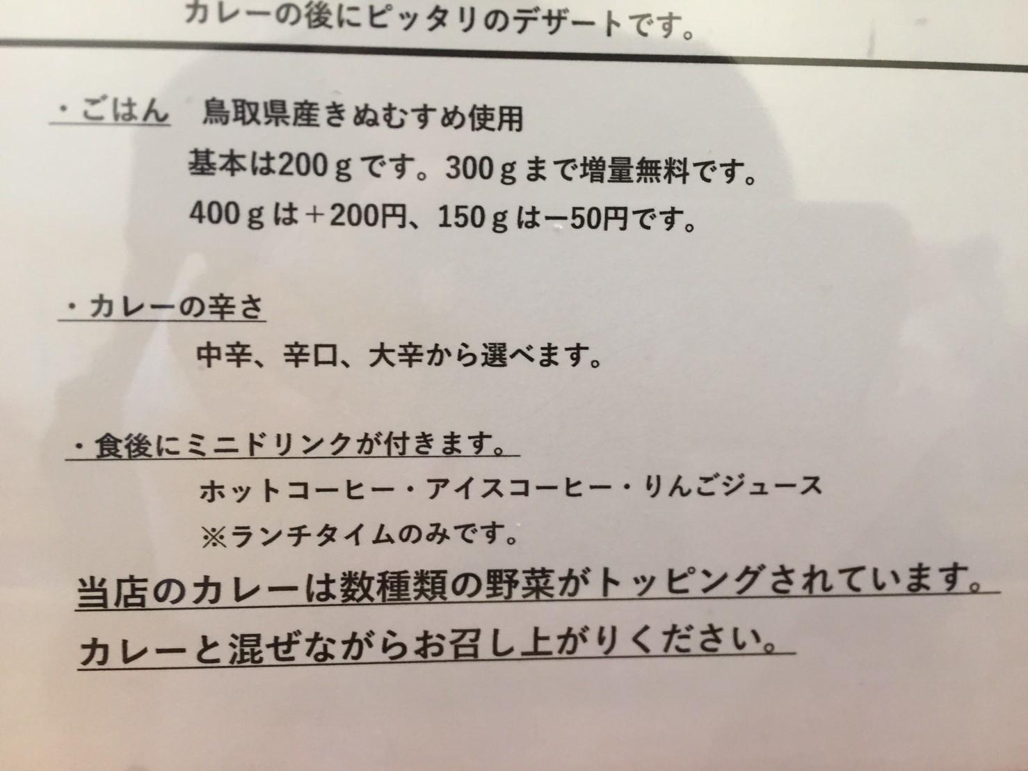 PARAKEET 限定カレー (金沢カレー風 ポークカツカレー)_e0115904_12402915.jpg