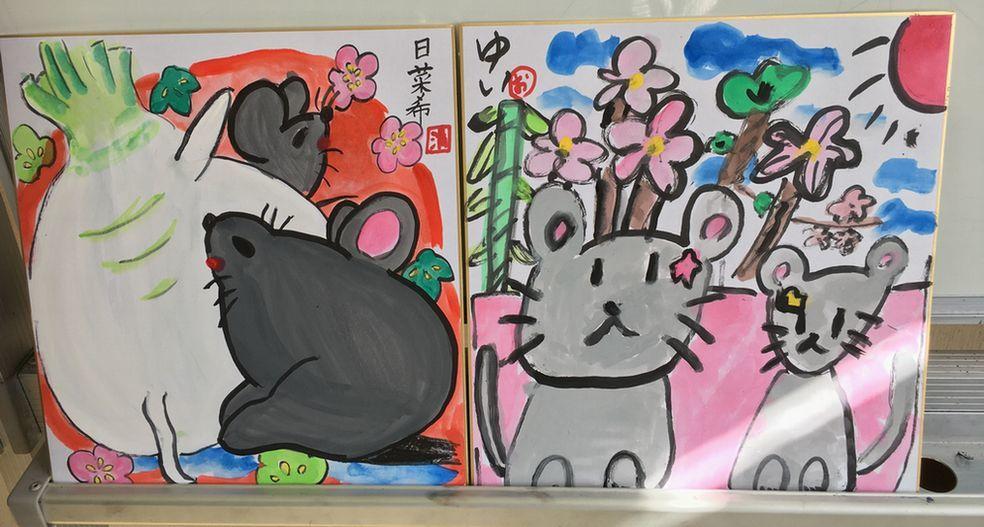 【絵画教室】描初め_d0156706_17581168.jpeg