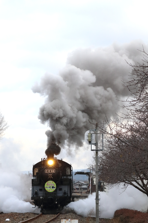 おまけの西田井発車はいつも通りに良煙 - 2020年冬・真岡鉄道 -_b0190710_21175586.jpg
