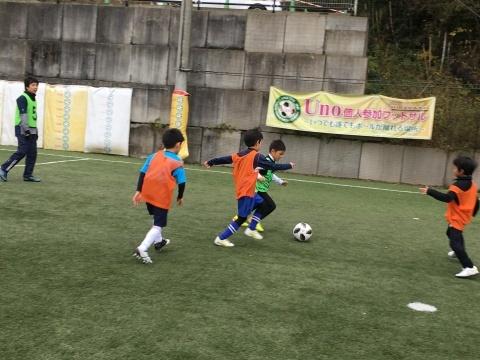 ゆるUNO 12/22(日) at UNOフットボールファーム_a0059812_15511932.jpg
