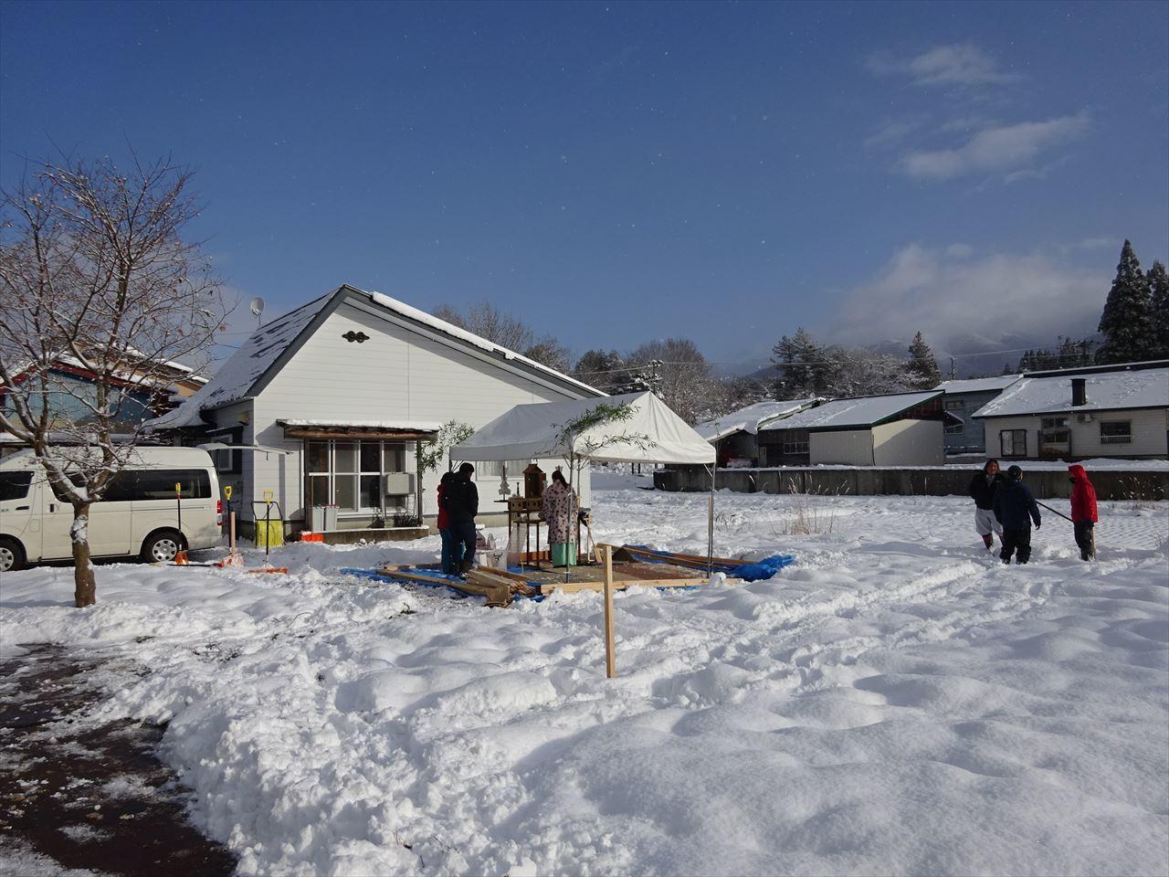 田沢湖の家 着工です。_f0105112_04425283.jpg