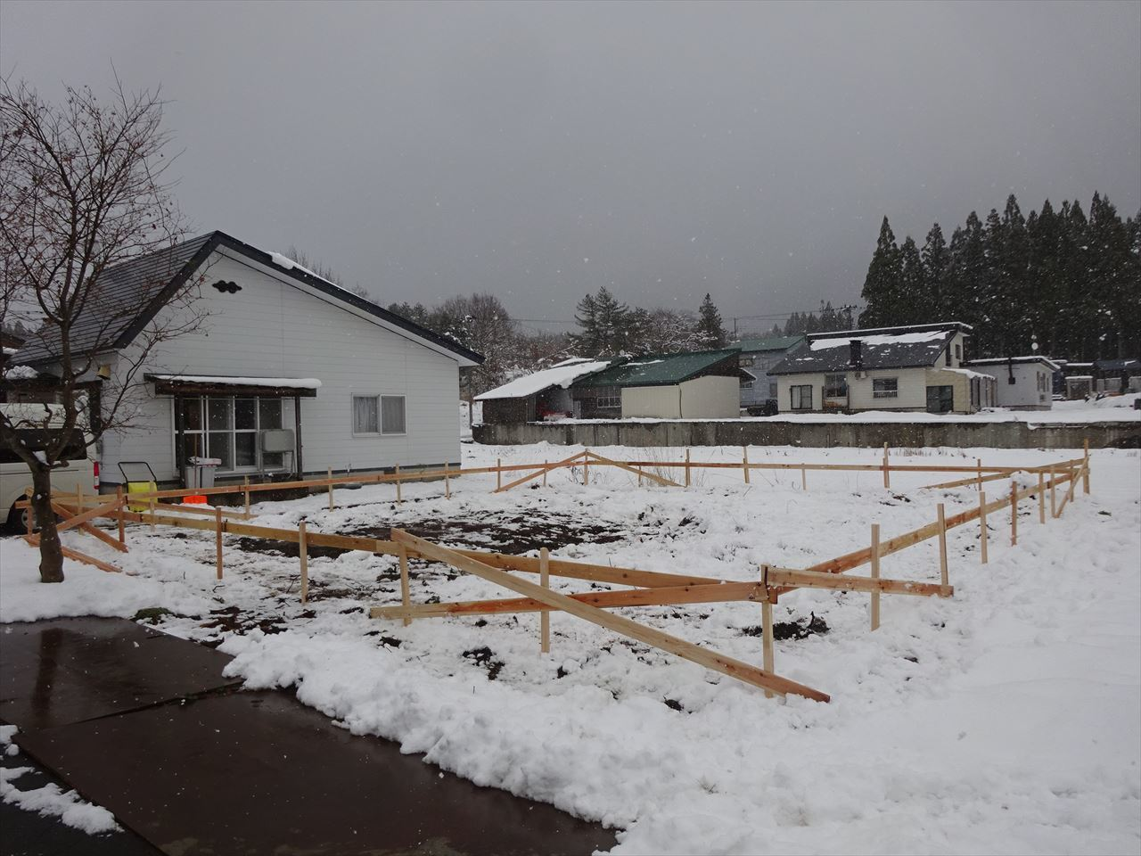田沢湖の家 着工です。_f0105112_04511514.jpg