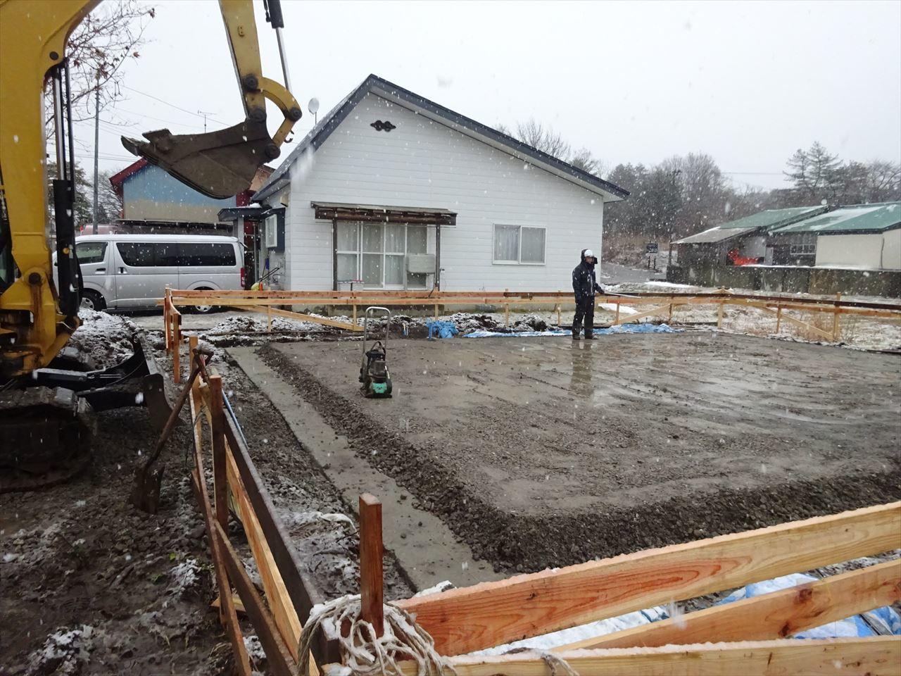 田沢湖の家 着工です。_f0105112_04594704.jpg