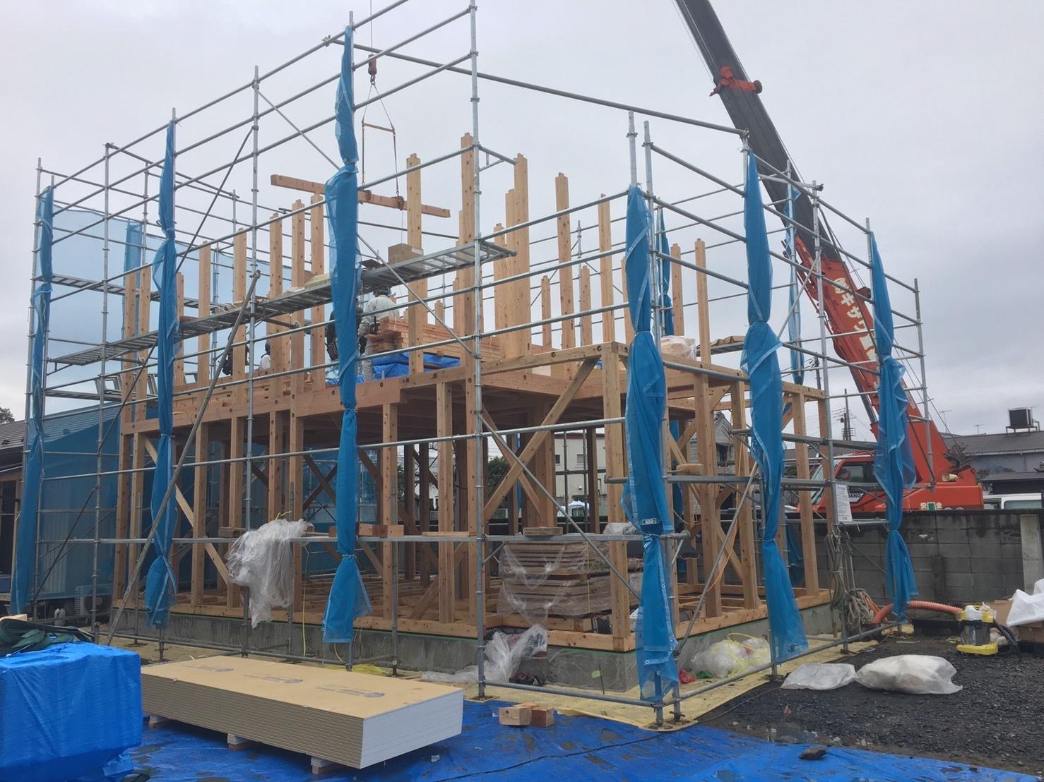 「桜川の家」が上棟しました!_a0059217_08291080.jpg