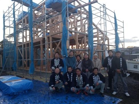 「桜川の家」が上棟しました!_a0059217_08292251.jpg