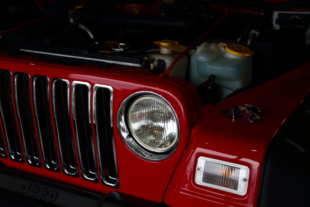TJへLEDヘッドライト装着から幌交換_f0105425_19574127.jpg