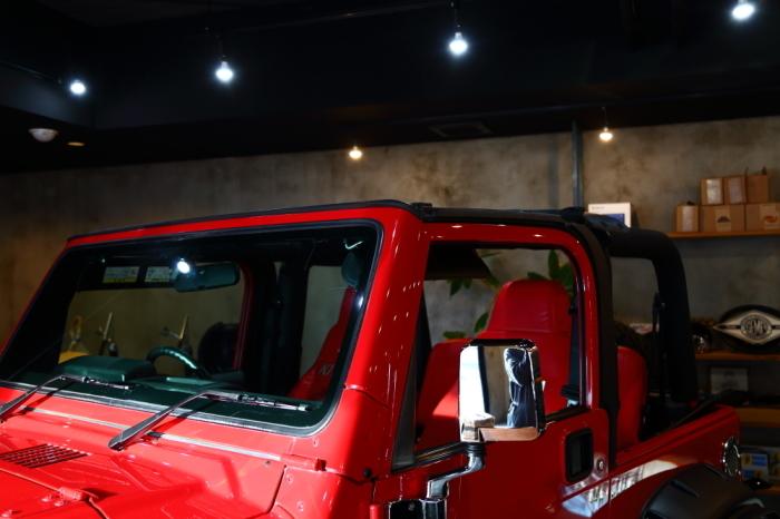 TJへLEDヘッドライト装着から幌交換_f0105425_20024982.jpg