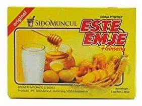 インドネシアの飲み物:ESTE EMJE@気仙沼市のインドネシア料理店・Warung Mahal_a0054926_17510657.jpg