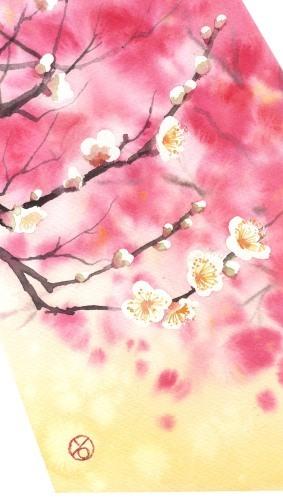 一枚の繪 2.3月号 水彩画 春崎幹太_f0176370_14183245.jpg