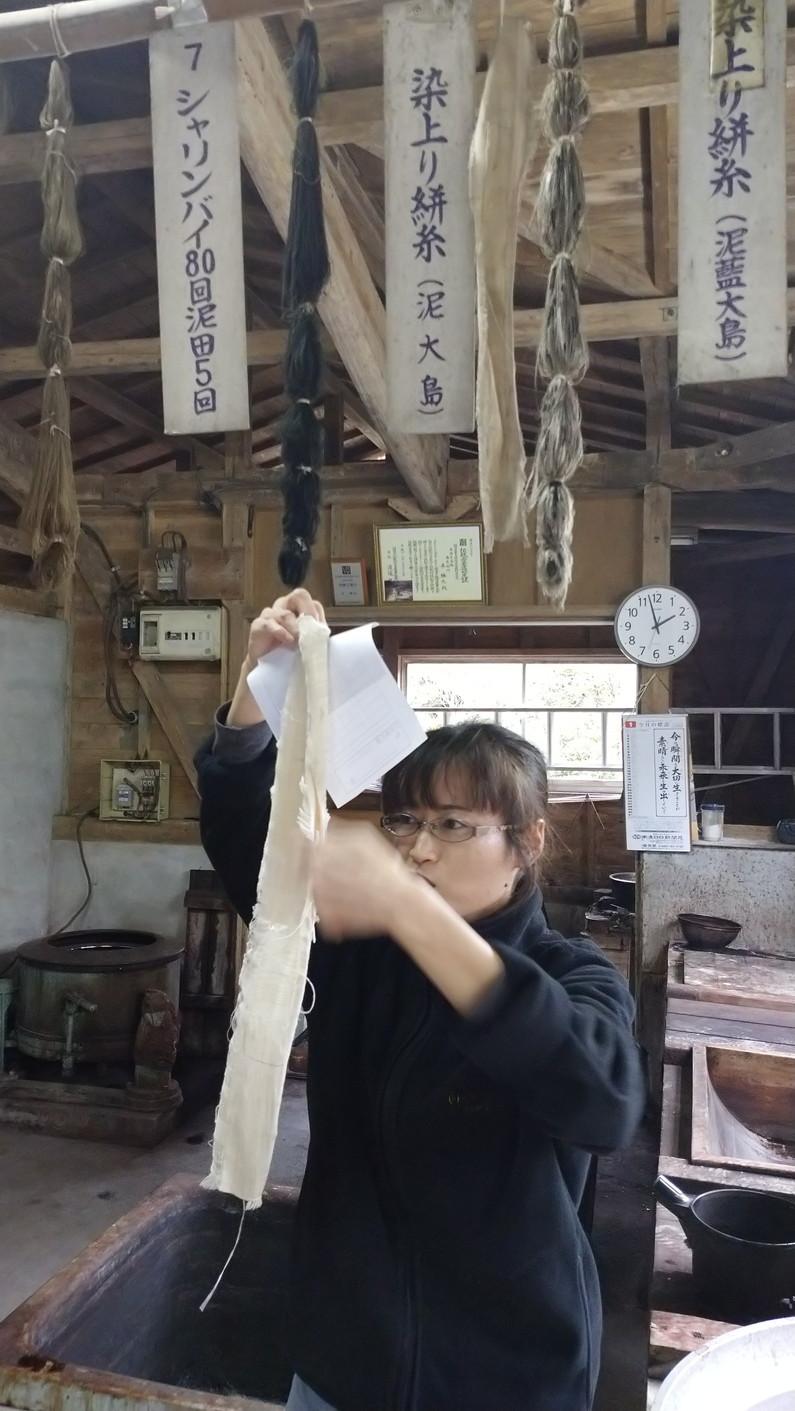 Imore 奄美大島旅行記 Vol.4 大島紬村_c0002171_22365156.jpg