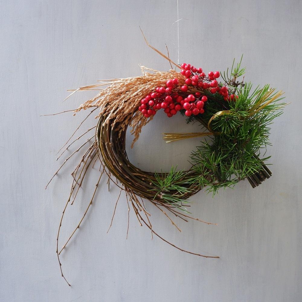 オークリーフ(お正月飾り)_f0049672_10454172.jpg