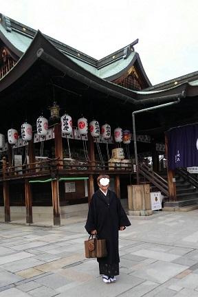 着物で初詣(岩清尾八幡宮)_d0043390_22101381.jpg