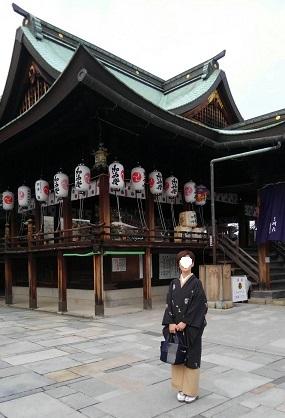 着物で初詣(岩清尾八幡宮)_d0043390_22114293.jpg
