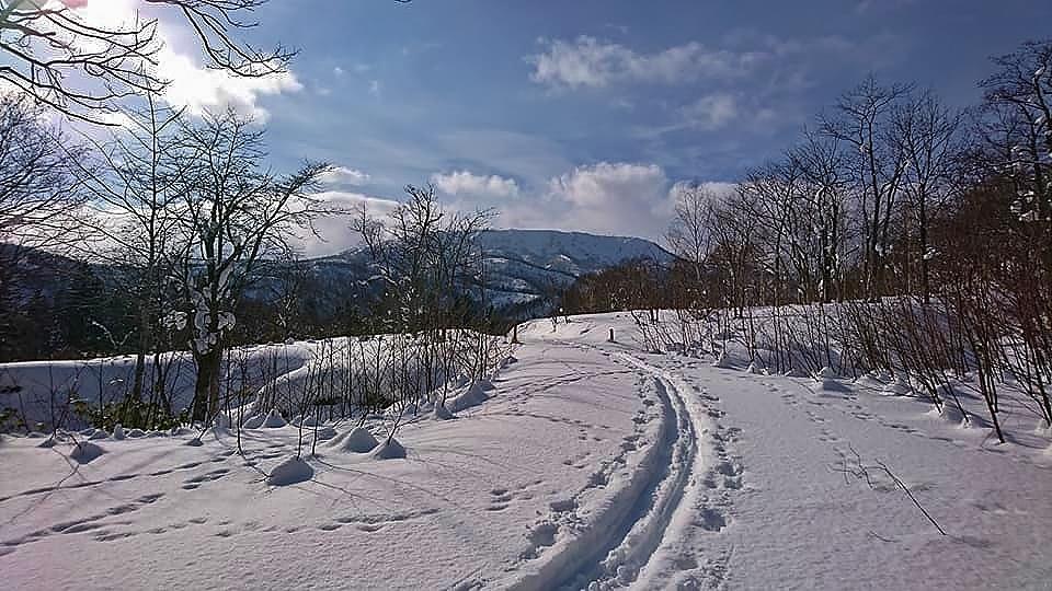 新ライトニングアッセントで信砂岳スノーハイク_d0198793_16573127.jpg