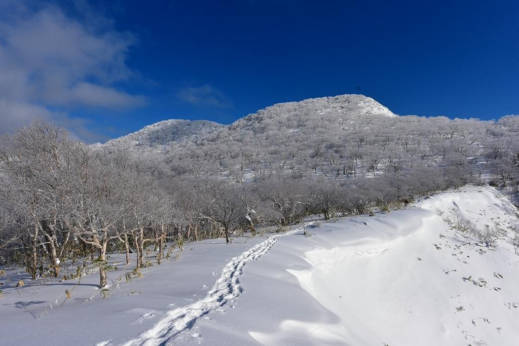 北白老岳と白老岳、2020.1.13_f0138096_14275626.jpg