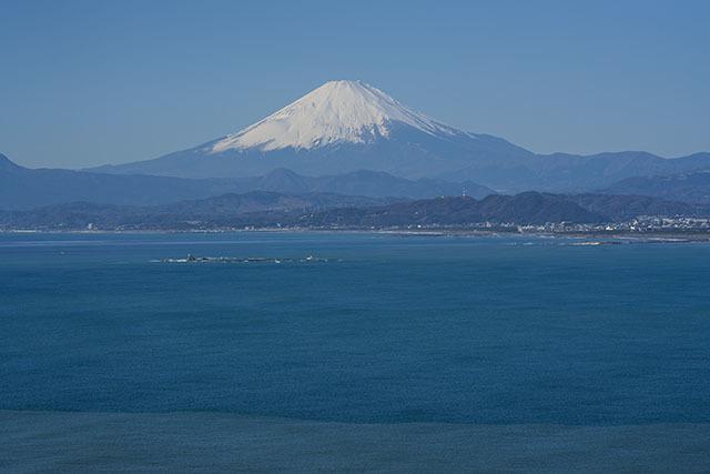 江ノ島からの富士山 稚児ヶ淵・江ノ島展望台・サンセットテラス_b0145398_18491222.jpg