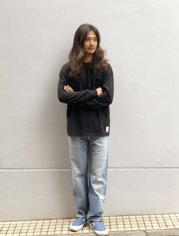 【DELIVERY】 STANDARD CALIFORNIA - Heavyweight Pocket Long Sleeve T_a0076701_12572266.jpg