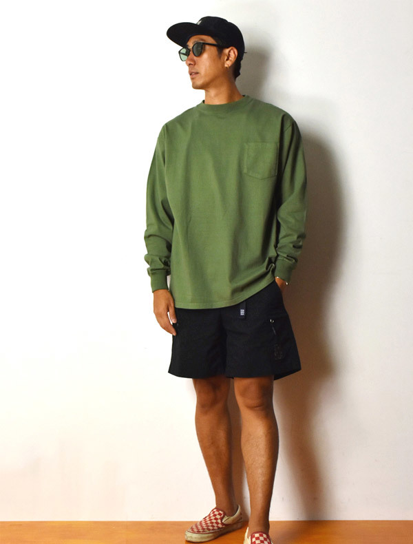 【DELIVERY】 STANDARD CALIFORNIA - Heavyweight Pocket Long Sleeve T_a0076701_12573708.jpg