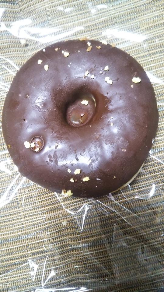 ミスタードーナツ チョコリング_f0076001_23172932.jpg