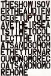 Felix Gonzalez-Torres × Christopher Wool: The Show is over ポスター_c0214605_14554129.jpg