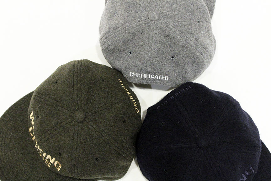 "THE COLOR (ザ・カラー) "" WORKING CLASS \"" WOOL CAP_b0122806_12492238.jpg"
